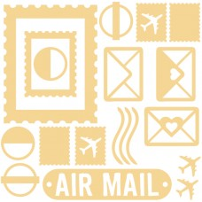 Air Mail - Chipboard