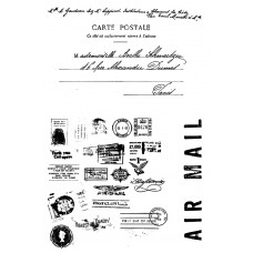 Air Mail - Clear Stamp Set