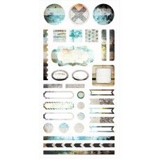 Hazy Days - Element Stickers 6x12