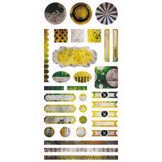 Paint Chips - Element Stickers 6x12