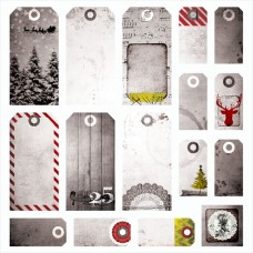 Yuletide - Tags 12x12