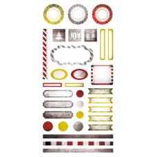 Yuletide - Element Stickers 6x12